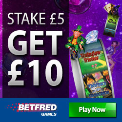 betfred games bonus